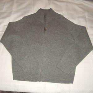 Cardigan Sweater Gap Mens L Lambs Wool J Crew